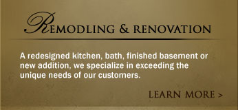 Remodling and Renovation